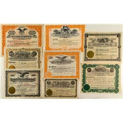 Colorado Gold Mining Stock Certificates (8)