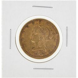 1892 $10 Liberty Head Gold Eagle Gold Coin
