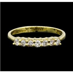18KT Yellow Gold 0.35ctw Diamond Ring