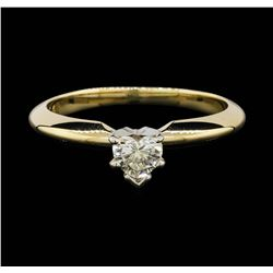 14KT Two Tone Gold 0.25ct Diamond Ring