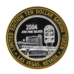 .999 Silver Slots - A - Fun Las Vegas, Nevada $10 Casino Gaming Token Limited Ed