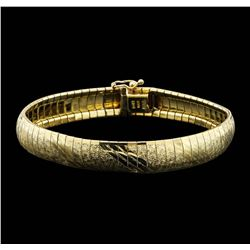 10K Yellow Gold Fashion Bracelet