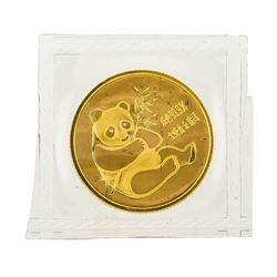 1982 China 1/4 oz. Panda Gold Coin - Sealed