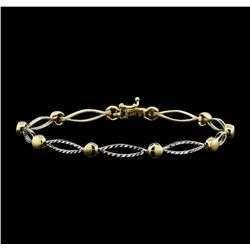 14KT Two Tone Gold Bracelet