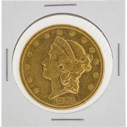 1873 $20 Liberty Head Double Eagle Gold Coin