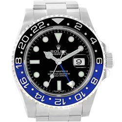Rolex GMT Master II Batman Blue Black Ceramic Mens Watch
