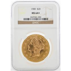 1900-S $20 Liberty Head Double Eagle Gold Coin NGC MS64+