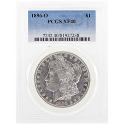1896-O $1 Morgan Silver Dollar Coin PCGS XF40