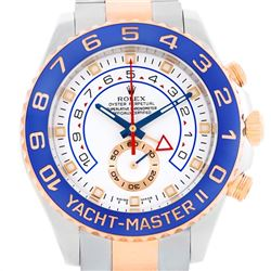 Rolex Yachtmaster II Steel 18k Rose Gold Mens Watch
