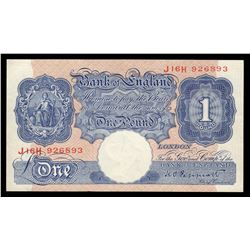 1940-48 1 Pound Great Britain Bank of England Note