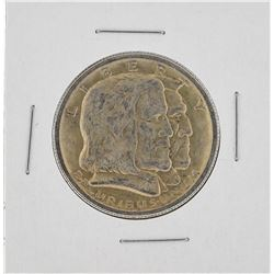 1936 Long Island Tercentenary Commemorative Half Dollar Coin
