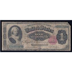 1891 $1 Silver Certificate Martha Washington Note Fr. 223