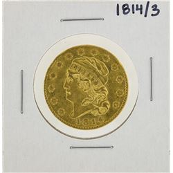 1814/3 $5 Capped Bust Gold Coin