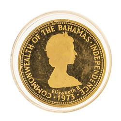 1975 $50 Commonwealth of the Bahamas Gold Coin