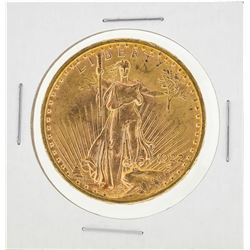 1922 $20 Saint Gaudens Double Eagle Gold Coin