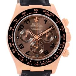 Rolex Cosmograph Daytona 18K Rose Gold Everose Watch