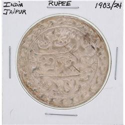 1903/24 India Jaipur Rupee Coin