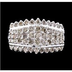 14KT White Gold 1.43ctw Diamond Ring