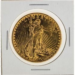 1924 $20 St. Gaudens Double Eagle Gold Coin Polished