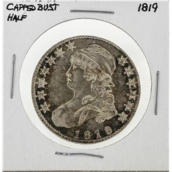 1819 Capped Bust Half Dollar Silver Coin