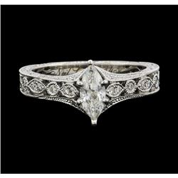 14KT White Gold Neil Lane 0.80ctw Diamond Wedding Ring