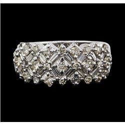 14KT White Gold 1.50ctw Diamond Ring