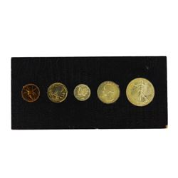 1937 (5) Coin Proof Set