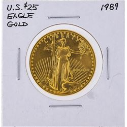 1989 $25 American Gold Eagle Coin