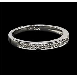 14KT White Gold 0.15ctw Diamond Ring
