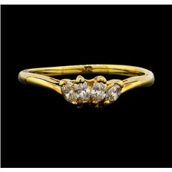 14KT Yellow Gold 0.40ctw Diamond Ring