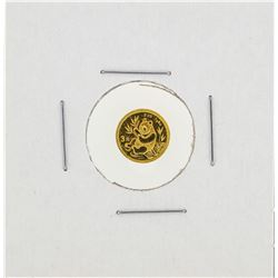 1991 1 Gram China Panda Gold Coin