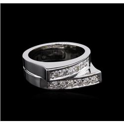14KT White Gold 0.53ctw Diamond Ring