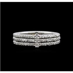 14KT White Gold 0.52ctw Diamond Ring