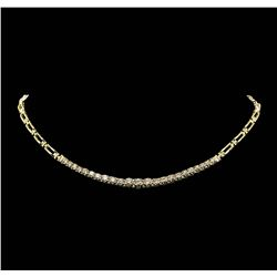 14KT Yellow Gold 2.85ctw Diamond Necklace