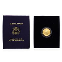 2007 1/4 Ounce $10 American Eagle Gold Coin Uncirculated