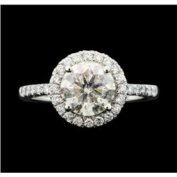 Platinum 2.42ctw Diamond Ring
