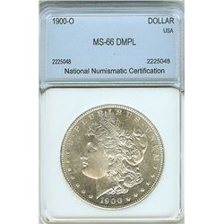 1900-O MORGAN SILVER DOLLAR NNC MS-66 DMPL