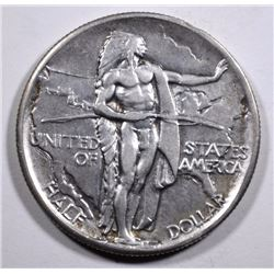 1926 OREGON COMMEMORATIVE HALF DOLLAR, AU