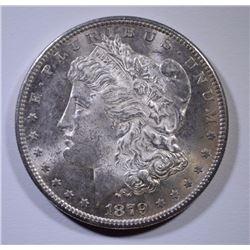 1879-S MORGAN SILVER DOLLAR CHOICE BU