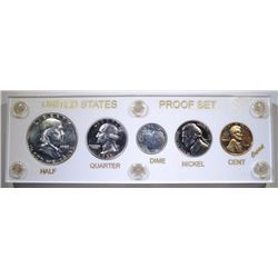 1955 U.S. PROOF SET IN CAPITOL PLASTIC
