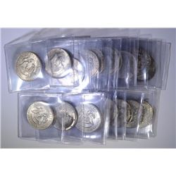 ROLL (20) PCS 1964 SILVER KENNEDY HALF DOLLARS