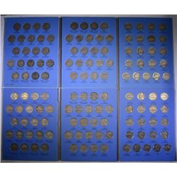 2 - CIRC SETS JEFFERSON NICKELS COMPLETE 1938-64