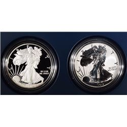 2012 SAN FRANCISCO 2-PIECE PROOF AMERICAN SILVER EAGLE SET IN ORIGINAL PACKING