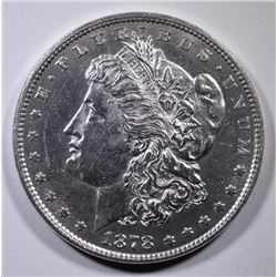 1878 7TF MORGAN SILVER DOLLAR BU
