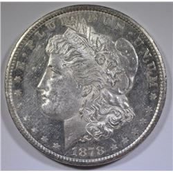 1878-CC MORGAN SILVER DOLLAR CHOICE BU PROOF LIKE