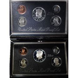 1992 & 1998 U.S. MINT PREMIER SILVER PROOF SETS