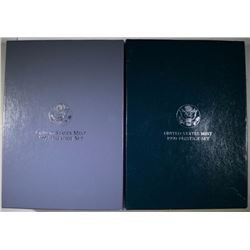 1990 & 1991 U.S. PRESTIGE PROOF SETS IN ORIGINAL PACKAGING