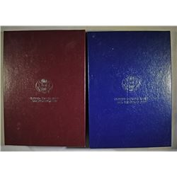1992 & 1993 U.S. PRESTIGE PROOF SETS IN ORIGINAL PACKAGING