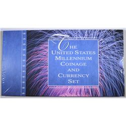 THE UNITED STATES MILLENNIUM COINAGE AND CURRENCY SET - MINT ISSUED SEALED