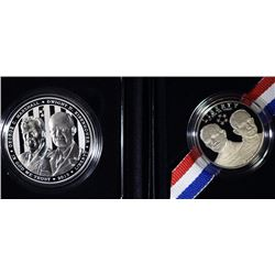 2013 5 STAR GENERALS PROOF  SILVER DOLLAR & CLAD HALF IN ORIG BOXES/COA